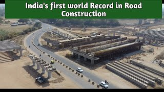 India's first world Record in Road Construction| Delhi-Mumbai Expressway |Update 59|