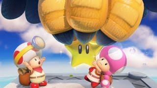Captain Toad: Treasure Tracker 100% Walkthrough Part 1 - The Secret Is in the Stars
