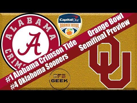 Alabama vs Oklahoma 2018 Orange Bowl Preview and Prediction (sure to go wrong...)