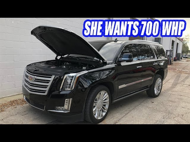 My WIFE Ordered Parts For HER Supercharged SUV. Things Escalade Quickly!