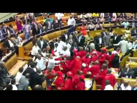 EFF Kicked out of State of the Nation (South Africa)