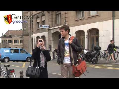 Une visite de Genève avec les Swiss Greeters  sur Léman Bleu TV