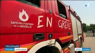 Les sapeurs-pompiers de Metz font eux aussi la grève