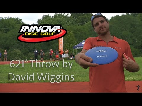 600+ Foot Throw by Distance World Record Holder - David Wiggins