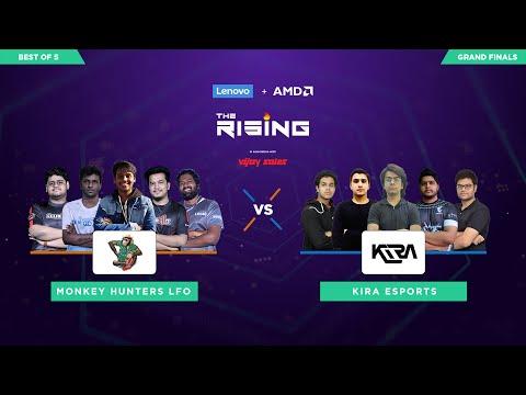The Esports Club - Lenovo + AMD The Rising | Grand Finals |