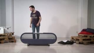 видео бортик для кровати от падений