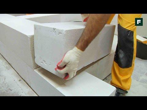 Кладка газобетонных блоков // FORUMHOUSE