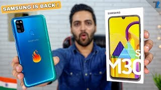 Samsung Galaxy M30s - Unboxing & Hands On | 6000 mAh Battery | 48MP Triple Camera | Exynos 9611