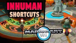 Top 10 INHUMAN Shortcuts in Mario Kart Wii