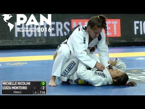 Luiza Monteiro VS Michelle Nicolini / Pan Championship 2016
