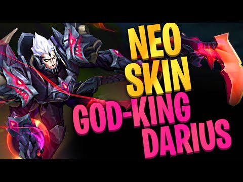 God-King Darius - ΝΕΟ SKIN - League of Legends thumbnail
