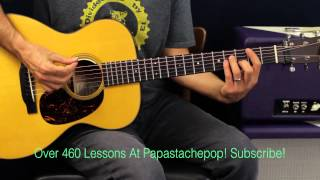 How To Play - Taylor Swift - Style - Guitar Lesson - EASY Song - Strum Version - Chords