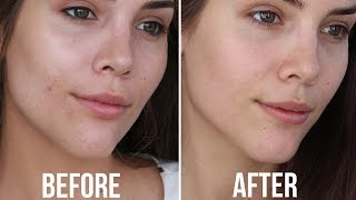 My Skincare Routine for Oily/Acne Prone Skin + 10 Minute Makeup Tutorial | Katerina Williams