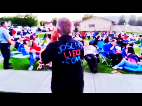 LDS Preaching - Manti Mormon Miracle Pageant 2016 --------- Dalcour
