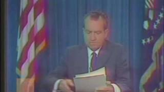 President Richard Nixon - Address to the Nation on the Situation in Southeast Asia