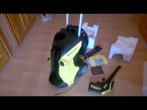 karcher k7 premium full control unboxing. Black Bedroom Furniture Sets. Home Design Ideas
