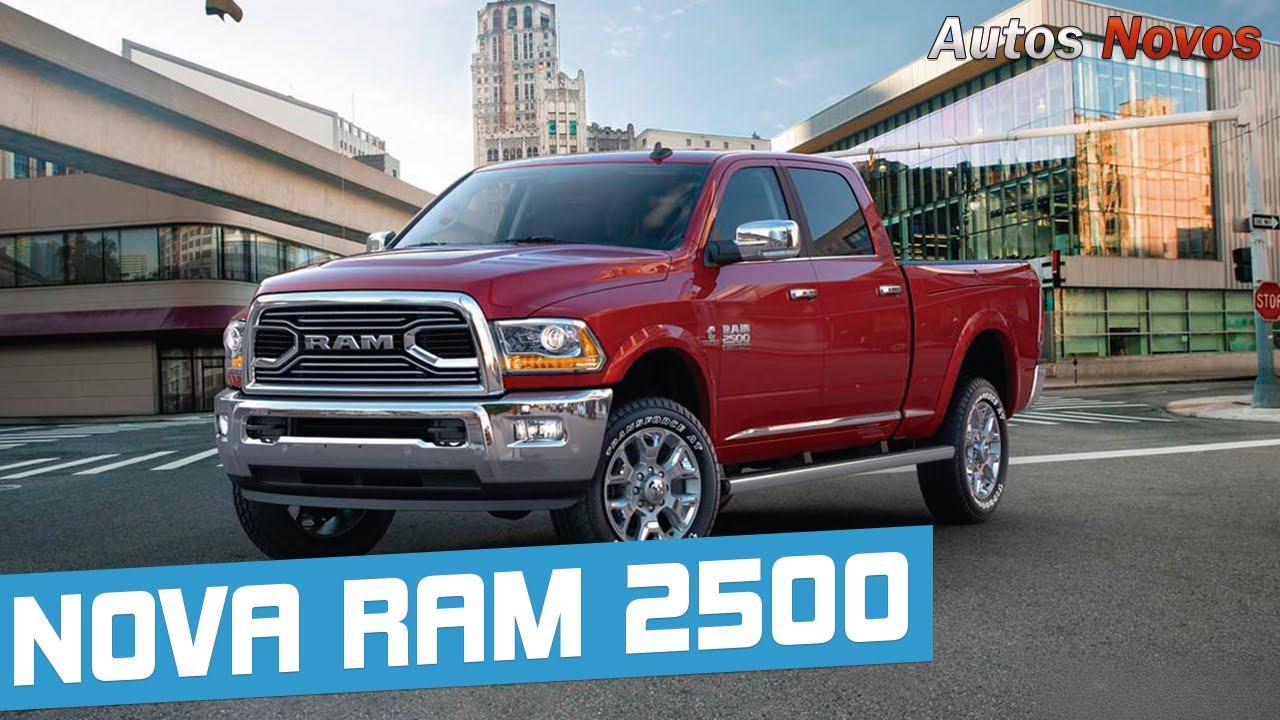 Dogde Ram 2016 >> Nova Dodge Ram 2500 - Autos Novos - YouTube