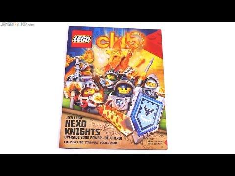 LEGO Club magazine Jan-Feb 2016 US
