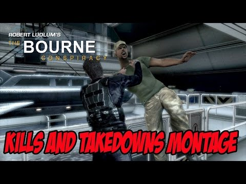 Kills And Takedowns Montage The Bourne Conspiracy