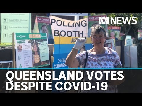 Queenslanders Head To The Polls For Council Elections During Coronavirus Pandemic | ABC News