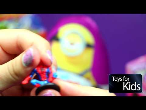 МИНЬОНЫ 2015 Kinder MAXI Star Wars Princesses Disney Harry Potter на русском обзор игрушки