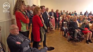 Presentatie Dorpsagenda in 't Zaaltje Heilig Landstichting