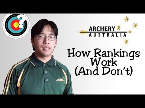 Archery | How Archery Australia Rankings Work (and How They Don't)