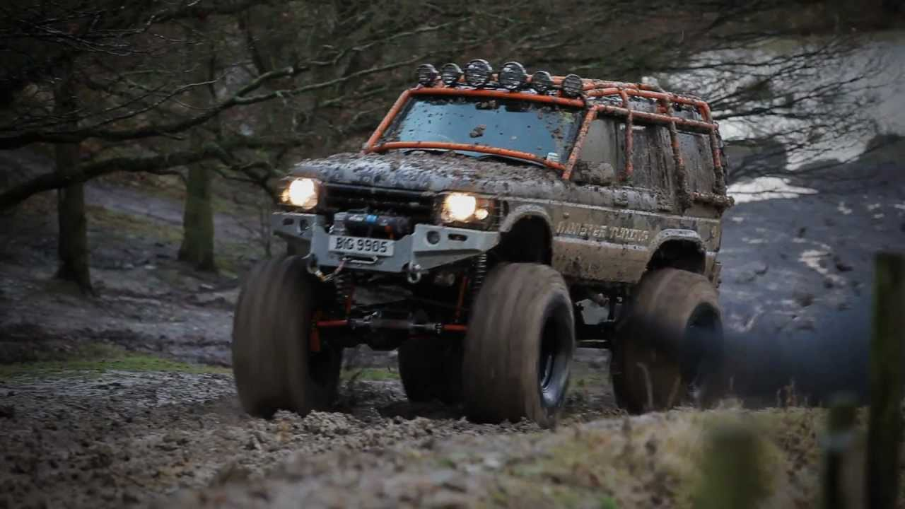 Monster Tuning Land Rover 8x8 Defender And Discovery