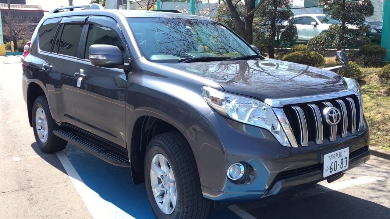 Buy New Car Tokyo Japan Toyota Prado 2017 Youtube