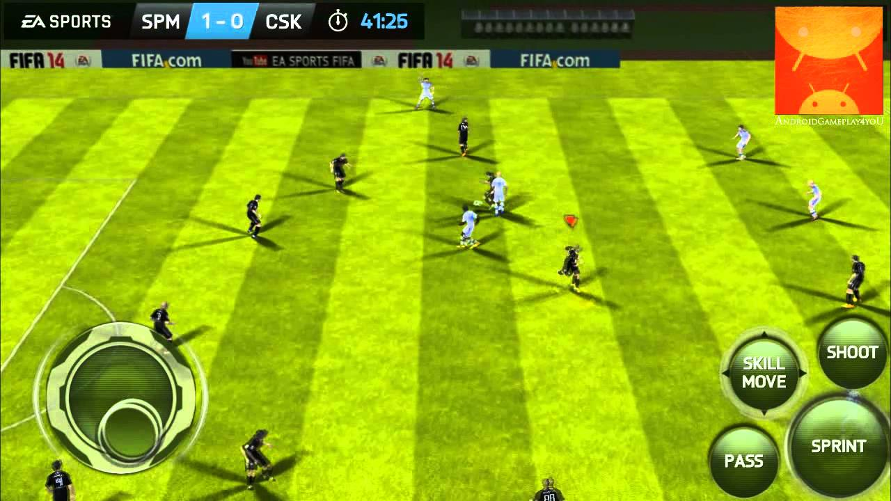 Помощь по игре fifa 2014 на андроид