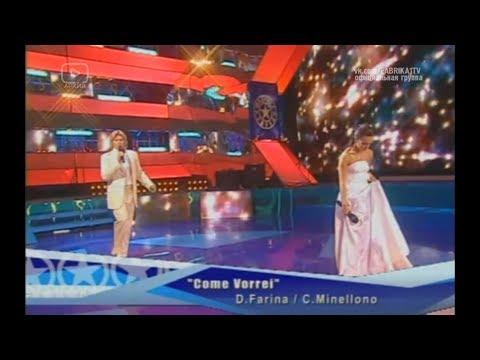 """Николай Басков и Светлана Светикова - """"Come Vorrei"""" (Фабрика-3)"""