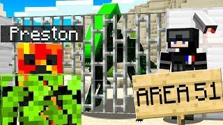 I Found an AREA 51 Alien Invasion in Minecraft!