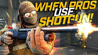 CS:GO - When PROS use SHOTGUN (Fragmovie)
