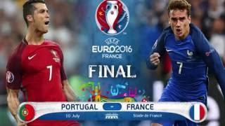 Final de l'euro 2016,FIFA 16:FRANCE-PORTUGAL