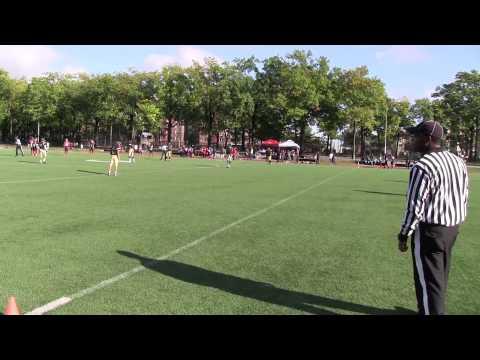 10 4 14 bronx buccaneers vs Queens Gladiators