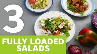 3 fully loaded salads [BA Recipes]