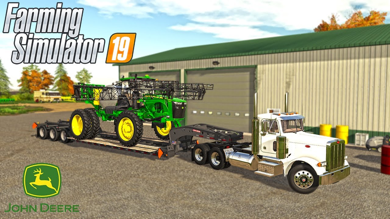 MILLENNIAL FARMS NEW DELIVERY TO THE FARM | (ROLEPLAY) FARMING SIMULATOR 2019 thumbnail