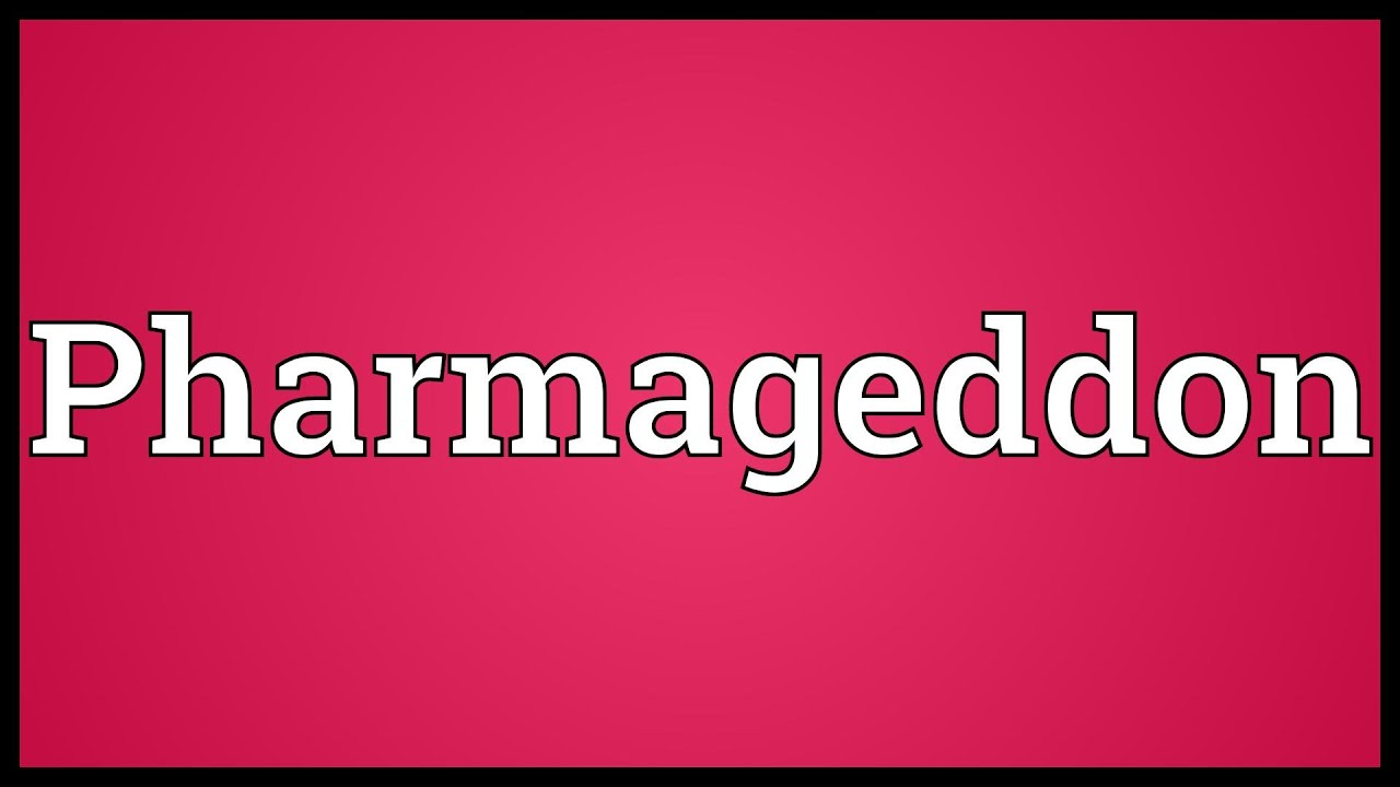 PHARMAGEDDON EPUB