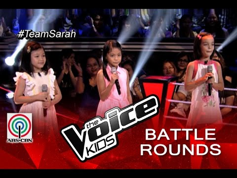 """The Voice Kids Philippines 2015 Battle Performance: """"Iduyan Mo by Mandy, Kristel, and Kenshley"""