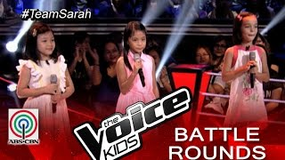 """The Voice Kids Philippines 2015 Battle Performance: """"Iduyan Mo"""" by Mandy, Kristel, and Kenshley"""