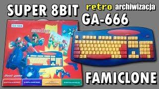 Pegasusowa klawiaturka GA-666 Super 8bit - Famiclone | Retro archiwizacja - odcinek 153