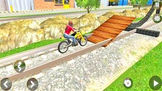 Racing Motocross Bike Stunt Adventure Game   Motorbike Riding   Dirt Bike Games   Bike Games #36