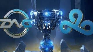 DFM vs. C9 | Play-In Groups | 2018 World Championship | DetonatioN FocusMe vs. Cloud9 (2018)