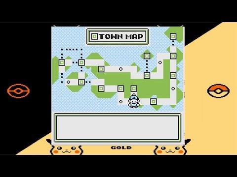 Die komplette Welt von Pokémon Gold 1997 Demo Beta Prototyp