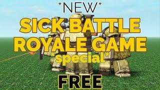 SICK ROBLOX BATTAGLIA ROYALE??? II ROBLOX Rudev's Battle Royale Brickbattle Royale