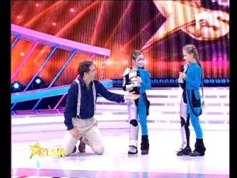 Next Star - Antena 1 - fetitele robotice