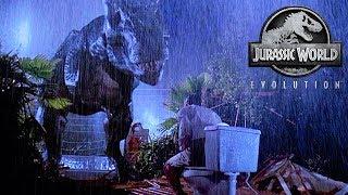 Jurassic World Evolution! Our First Guest Eaten By A Dinosaur! Episode 4