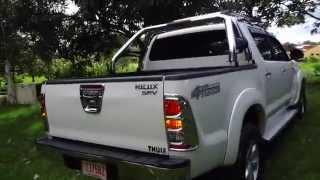 TOYOTA HILUX SRV 2009 MANUAL 3.0 TDI 4X4 FULL EXTRAS