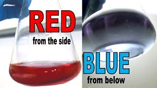 Mysterious chemical changes color depending on perspective