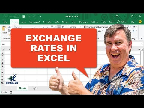 Outstanding! Exchange Rates Debut In Excel - 2274